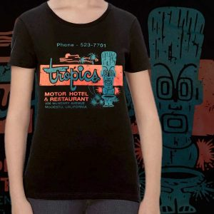 Womens T-Shirt Tropics Motel