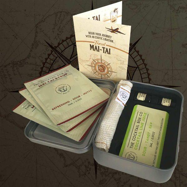 Travel Mai-Tai Kit Detail